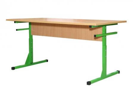 Стіл для їдалень прямокутний на швелері 6-місний регулюємий