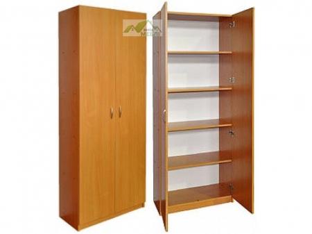 Шафа книжкова закрита 2-дверна
