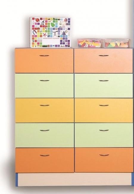 Секція з ящиками подвійна кольорова (Секція з ящиками подвійна кольорова)