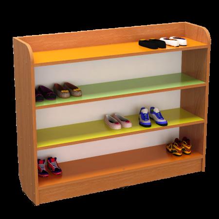 Полиця для дитячого взуття (1200х250х800мм)