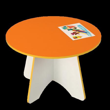 Круглий дитячий столик